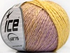 Soft Chain Wool Yellow Lilac