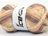 Design Sock Light Salmon Grey Cream