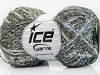 Twist Wool Shine Silver Grey Shades Metallic