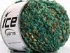 Zeus Boucle Mint Grønn Krem Brun