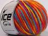 Wool Cord Aran Rainbow