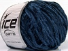 Chenille Light Dark Blue