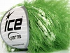 Sale Eyelash Blend White Green