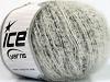 Sale Mohair-Wool Blend White Black