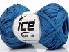 Sale Summer Blue Linen Cotton Natural Yarn