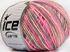Wool DK Color Pink Shades Grey
