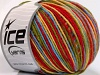 Wool DK Color Yellow Red Green Blue
