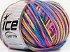 Wool DK Color Yellow Pink Blue Shades