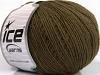 Wool Cord Sport Dark Khaki