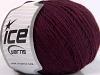 Wool Cord Sport Lavender Burgundy