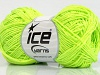 Natural Cotton Fine Neon Green