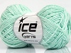 Natural Cotton Fine Mint Green