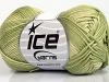 Cotton Fine Melange Green