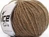 Wool Worsted 50 Brown Melange