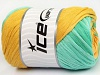 Cotton Tape Color Yellow Mint Green