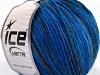 Wool Cord Light Blue Shades