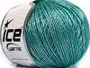 Online Mohair Silver Green