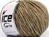 Wool Cord Bulky Kamel Melange