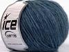 Wool Cord Aran Jeans Blue