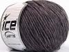 Wool Cord Aran Maroon Melange