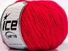 Wool Cord Aran Candy Pink