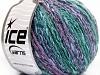 Pastel Cotton Lilac Shades Green Shades