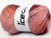 Angora Active Light Pink Cafe Latte Burgundy