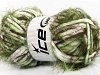 Techno Chenille White Green Brown