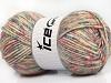 Wool Melange Pastel Colors