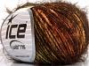 Sale Eyelash Blend Orange Green Gold Brown