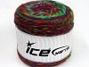 Cakes Wool Chunky Colors Turquoise Red Purple Green Shades
