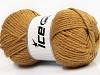 Wool Bulky Glitz Light Brown Gold
