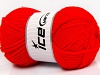 Wool Bulky Glitz Red