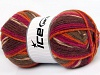 Jacquard Purple Orange Fuchsia Brown Shades