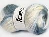 Mohair Active Light Lilac Grey Shades Cream