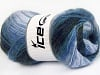 Mohair Active Navy Lilac Shades Blue Shades