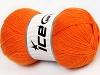 Solid Sock Orange