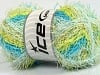 Scrubber Twist Color White Turquoise Lime Green