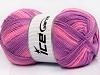 Baby Print Pink Lilac Shades