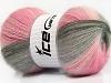 Angora Batik Pink Shades Grey Shades