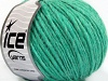 Wool Cord Aran Emerald Green