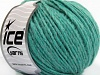 Wool Cord Aran Light Emerald Green