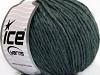 Wool Cord Aran Bluish Grey