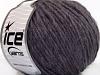 Wool Cord Aran Lavender Melange