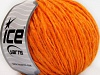 Wool Cord Aran Light Orange