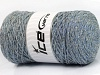Macrame Cotton Glitz Light Grey Blue