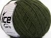 Acryl Cord Fine Dark Green
