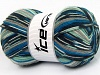 Super Sock Mint Green Grey Shades Blue