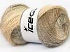 Mohair Pastel Cream Camel Beige