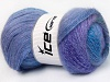 Mohair Pastel Purple Lilac Green Blue Shades